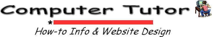 COMPUTER TUTOR BANNER